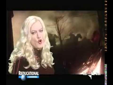 Rieducational Channel - Vulvia (Corrado Guzzanti) - Don Chisciotte, cava...