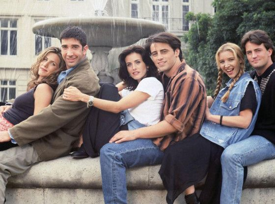 7 Things Friends Fans Still Argue About After All These Years  Friends, Cast Shot
