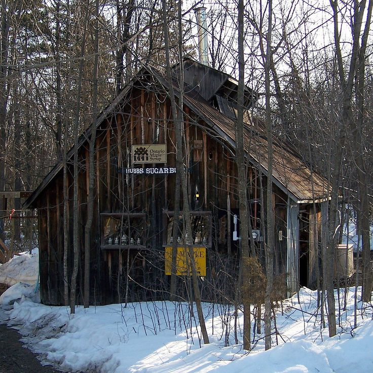 Hubbs Sugar Bush - Sweetwater Cabin | A sugar shack; taken a… | Flickr