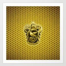 Ravenclaw Logo Art Print