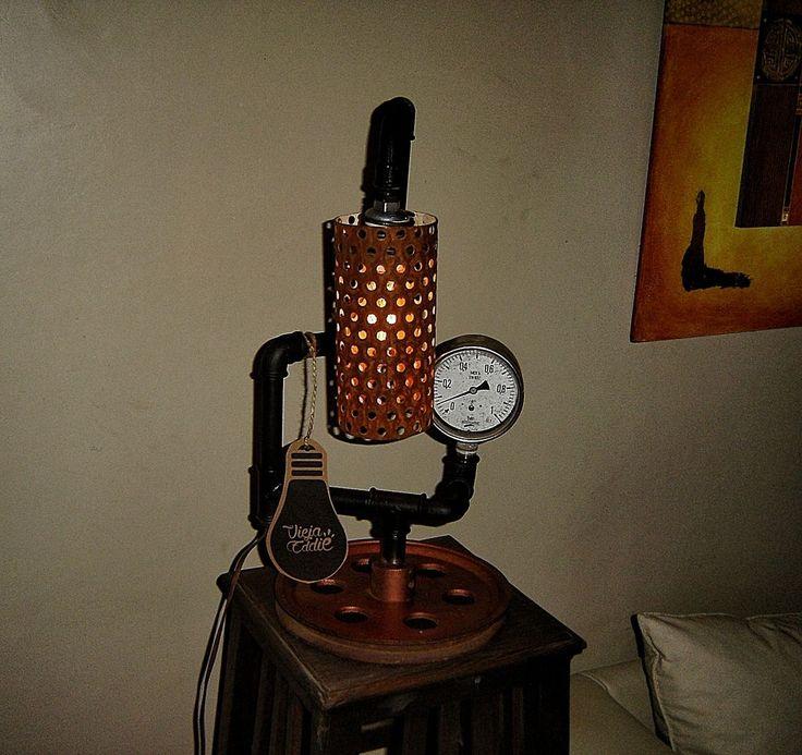 lampara industrial vintage