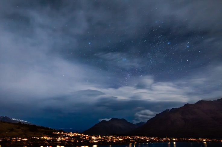 Stars over Queenstown by David Buhler on 500px