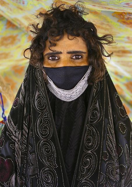 Africa | Rashaida Tribe Woman Near Massawa, Eritrea | © Eric Lafforgue
