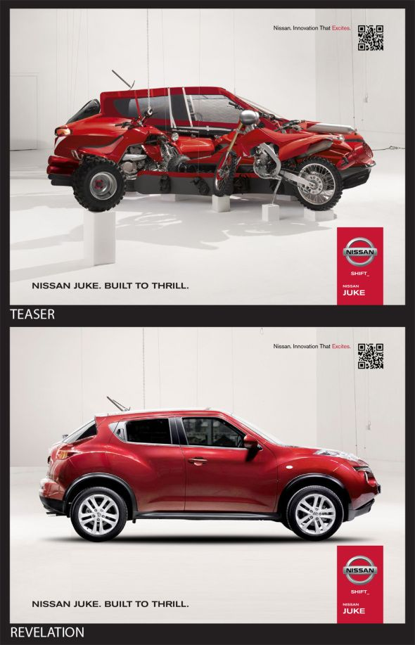 Outdoor Nissan Juke: Built To Thrill   A Cannes Lions Winner In 2012