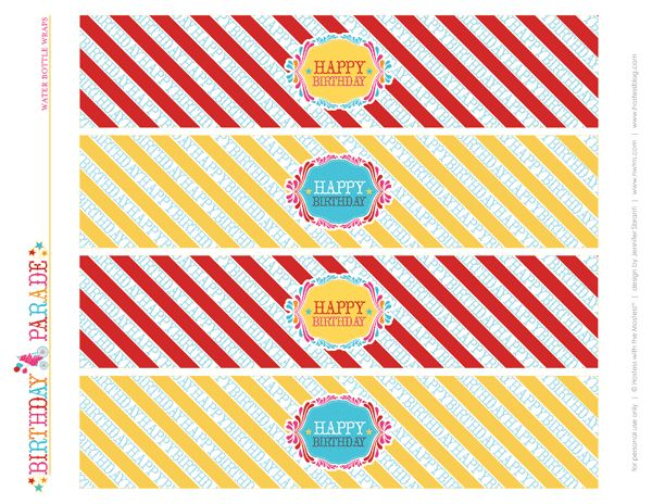 link to free b-day party carnival printables