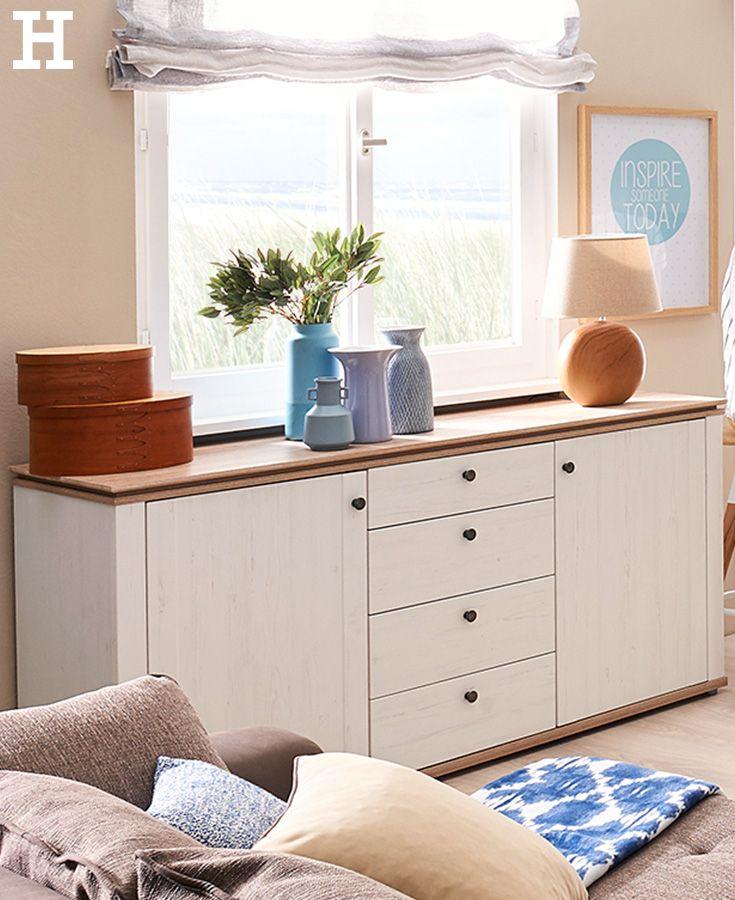Best 25+ Sideboard Weiß Landhaus Ideas On Pinterest | Shabby Chick ... Wohnzimmer Weis Landhausstil