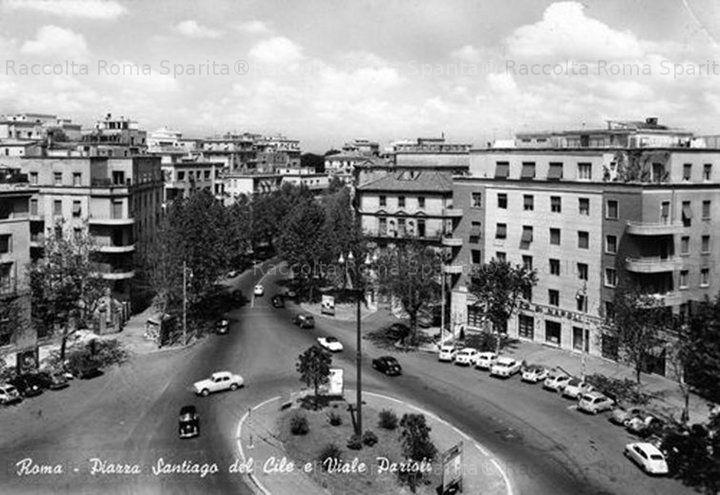 Piazza Santiago del Cile e Viale Parioli