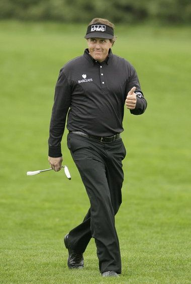phil mickelson - pebble beach 2012