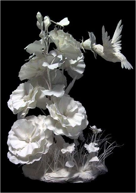 PAPER SCULPTURE BY ECKMAN........