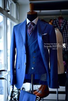 Suits: ARISTON, Cotton&Linen