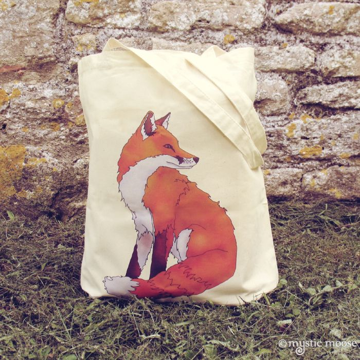 Рыжая Лиса сумка на Мистик Мус
