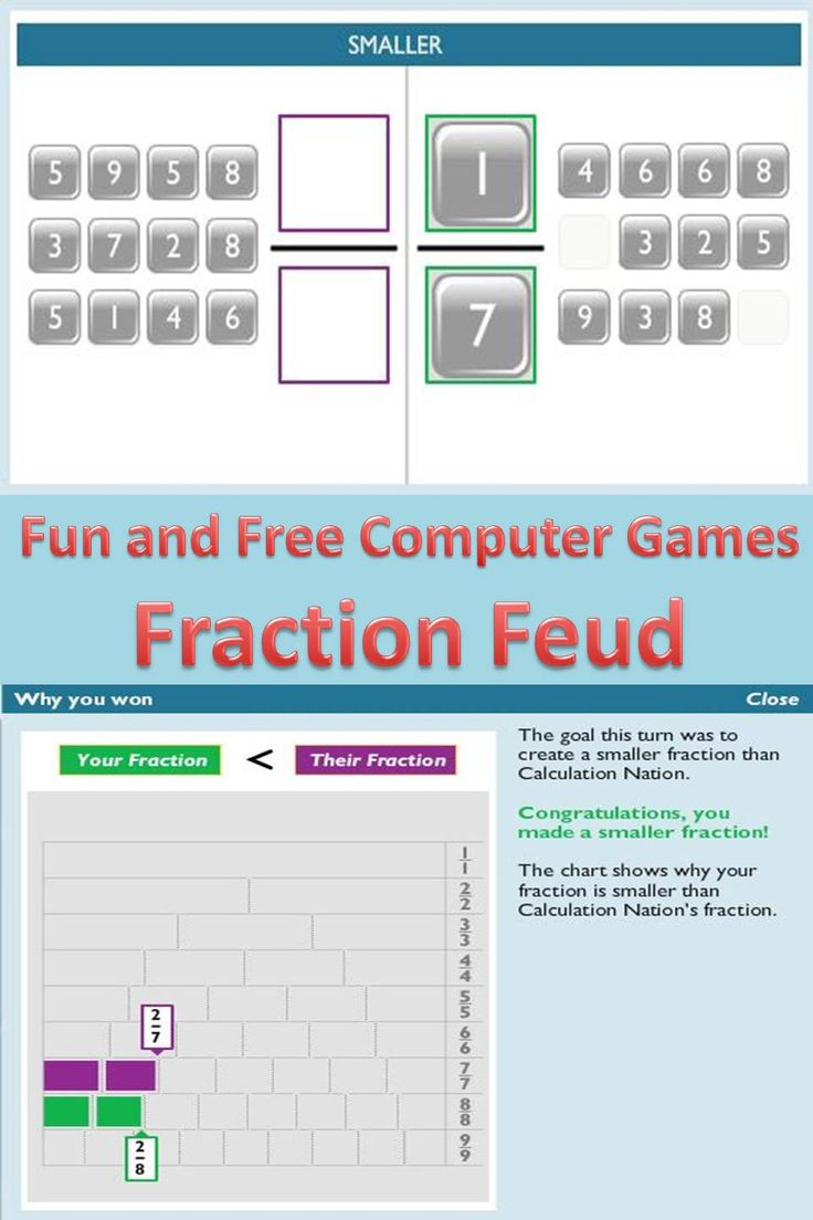 87 best Fractions images on Pinterest | Math activities, Math ...