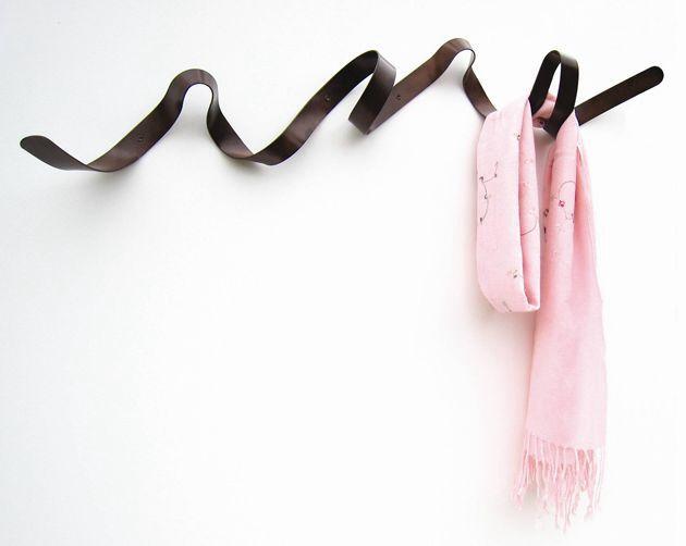 Lindo y original perchero de pared - nice wall coat rack