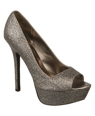 Sexy Pewter Comfort Dress Shoes