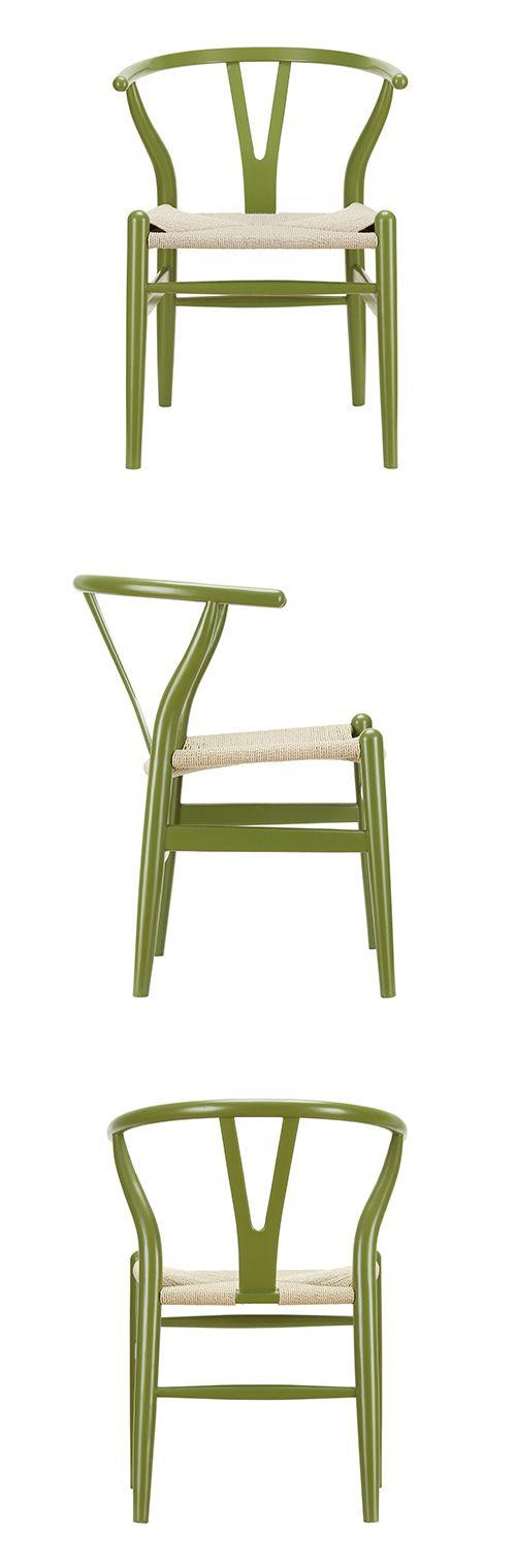 Woven Shaker Chair U2013 Green | Dotandbo.com