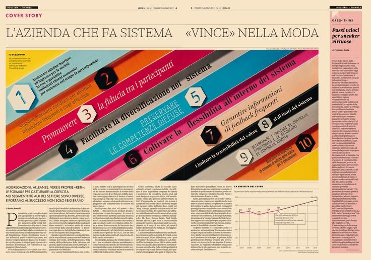 @Moda24 - Issue 18.   10 regole per Fare Sistema e portare al successo i brand del lusso
