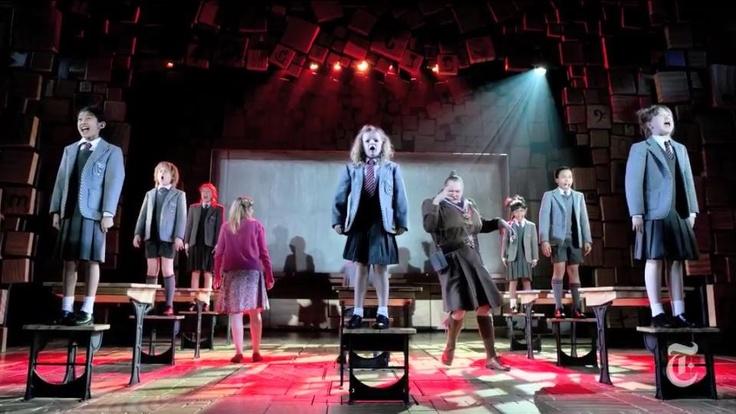 Broadway cast of Matilda