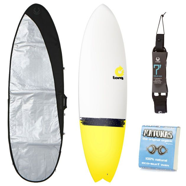Torq White   Yellow Tail Fish Surfboard Package Torq White   Yellow Tail Fish Surfboard Package - 6ft 6 http://www.comparestoreprices.co.uk/surf-boards/torq-white- -yellow-tail-fish-surfboard-package.asp