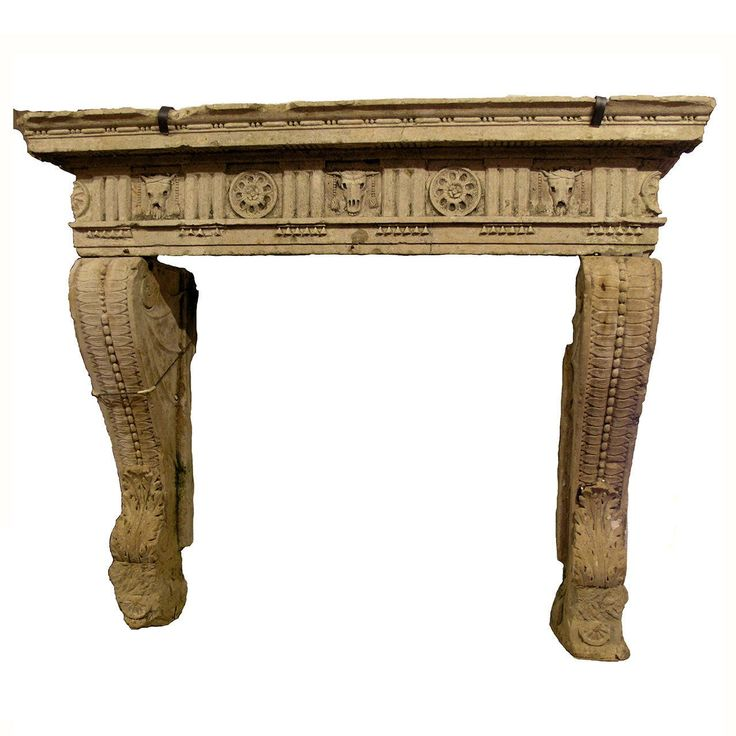 Antique Fireplace Made of Vicenza's Stone | From a unique collection of antique and modern fireplace tools and chimney pots at https://www.1stdibs.com/furniture/building-garden/fireplace-tools-chimney-pots/