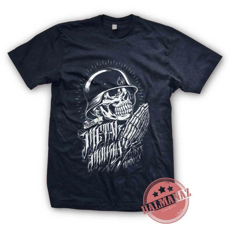 Metal Mulisha FMX Supercross Free Style Sport Navy Blue TShirt All Size