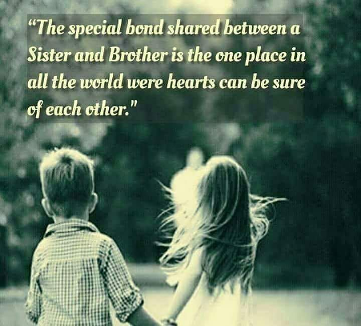 No Brother And Sister Ever Live Apart No Matter What The Distance Between Them Tag Mention Share Wi Brother Sister Quotes Brother Quotes Big Brother Quotes