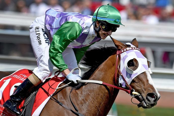 Michelle Payne wins the Melbourne Cup