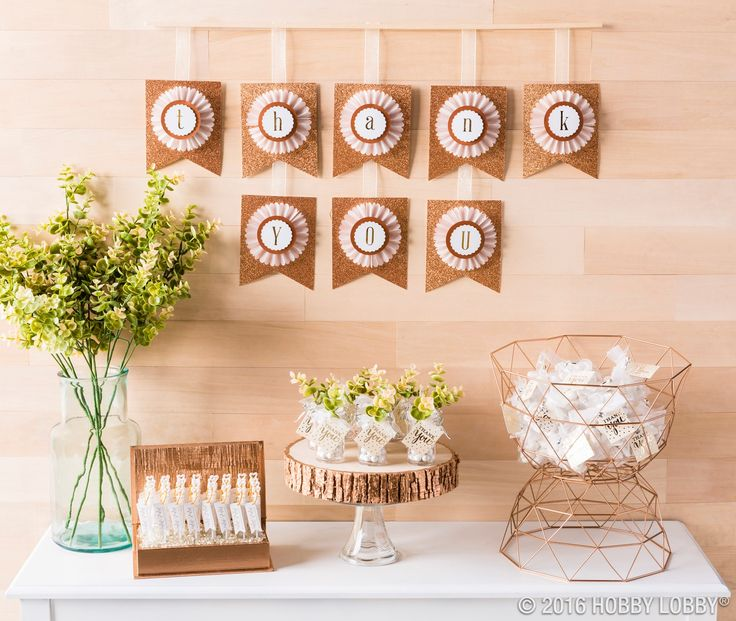 High Quality From Hobby Lobby · Give Your Guests A Pretty Send Off With Darling Wedding  Favors That Are Part DIY
