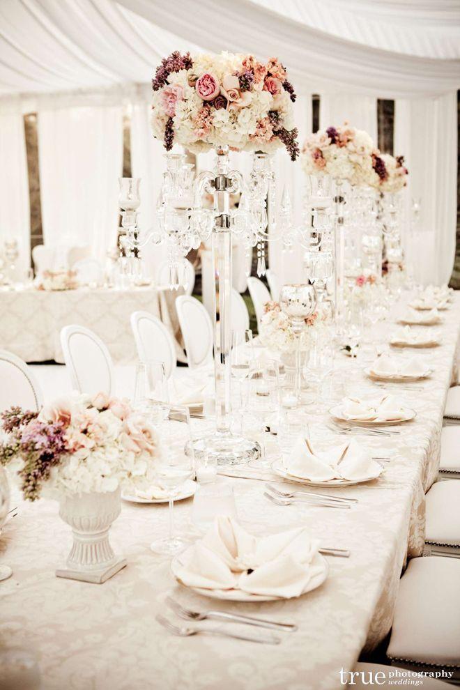Long Tables Wedding Receptions Part