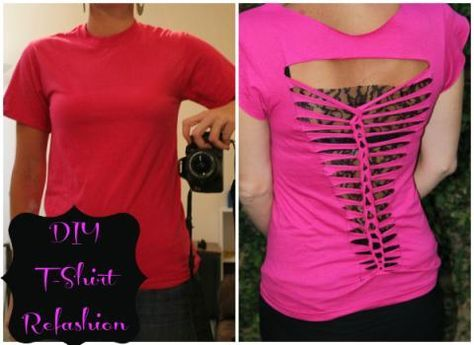 t shirt refashion