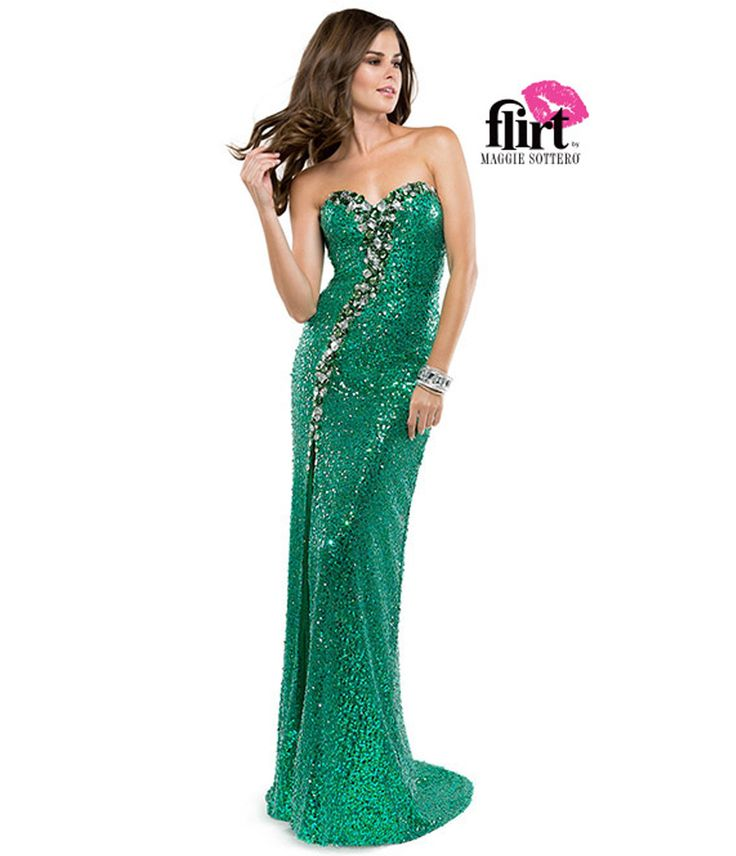 84 best images about Mermaid Gowns on Pinterest | Beaded prom ...