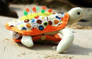gkkreativ: Nadelkissen Schildkröte