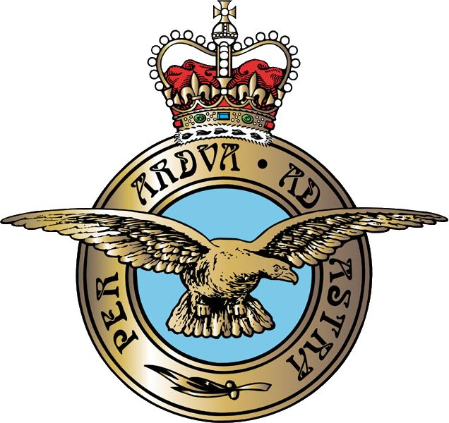 The RAF Badge and Moto
