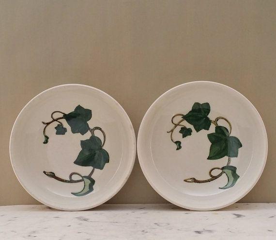 Vintage Poppy Trail Metlox Bowls California Ivy Set of Two & 36 best California Ivy Dinnerware images on Pinterest | Hedera ...