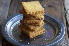 Biscotti di riso e mais al limone senza burro
