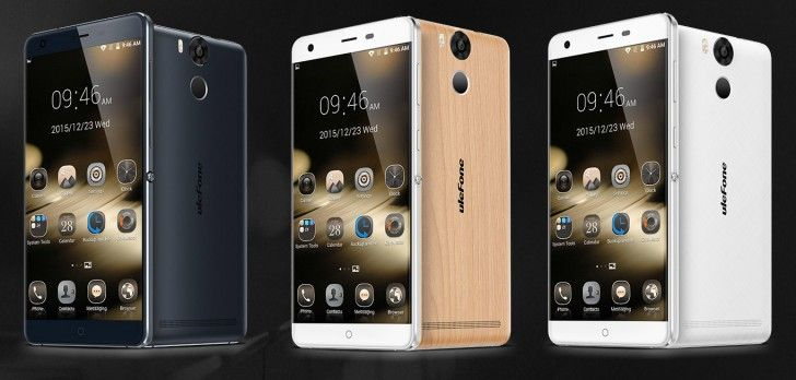 Ulefone Power has a 6,050mAh battery, metal frame and wooden back for $180 - GSMArena.com news
