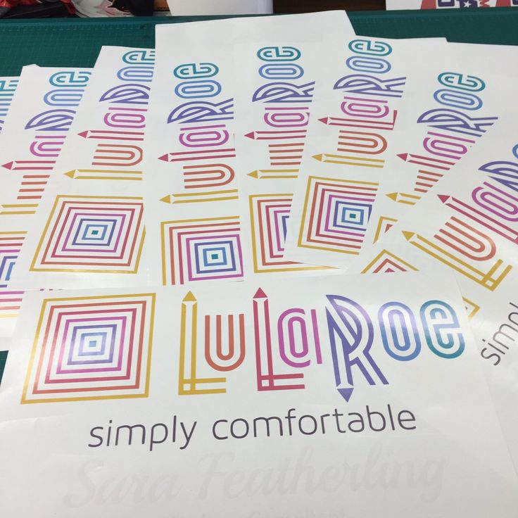 LuLaRoe Consultant Auto Decal LuLaRoe by TicTacsApparelGifts