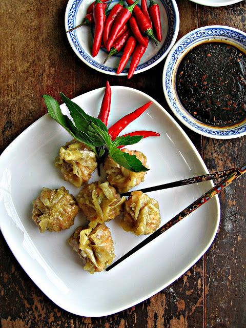 easy and delicious party snack/i love dumplings all of the time :D