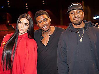 Kim Kardashian tout sourire avec Kanye West et North à l'approche des fêtes