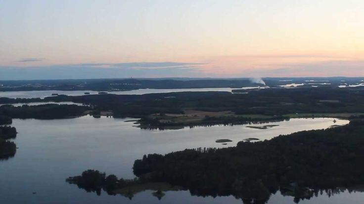 The maker of this video decided to call it The world's most beautiful landing: Kuopio Airport. Lakeland Finland surely looks inviting from above.