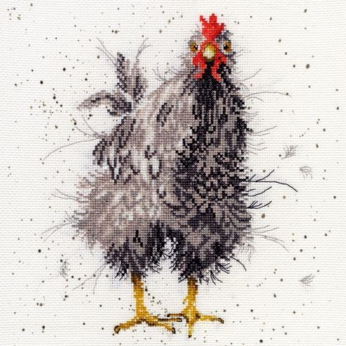 Curious Hen - Hannah Dale Cross Stitch Kit - Bothy Threads