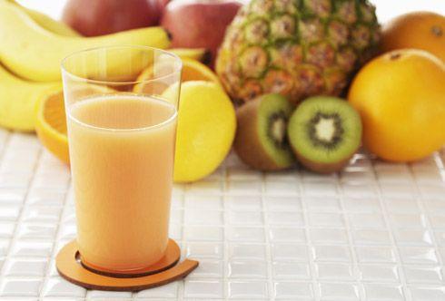 Succhi di frutta antinfiammatori