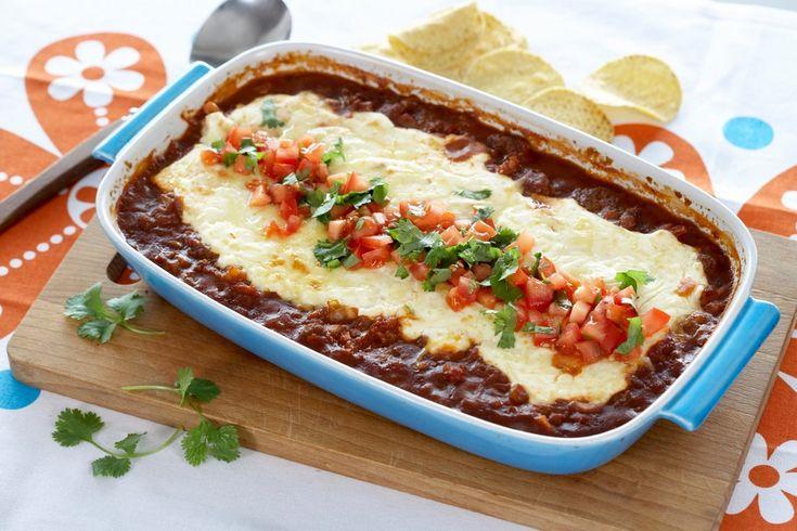 Her er en oppskrift på taco i form. Nydelig sammen med nachochips og en deilig hjemmelaget guacamole.