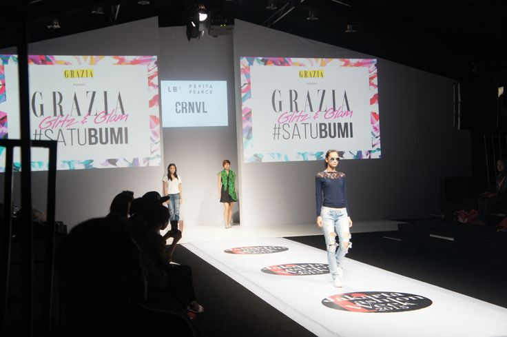 Grazia presents Glitz & Glam - Rehearsal #JFW2015