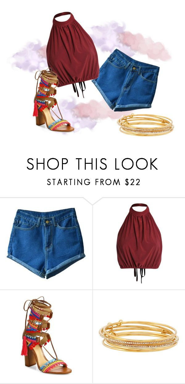 summer boho chic by missmikey on Polyvore featuring Schutz and Kate Spade