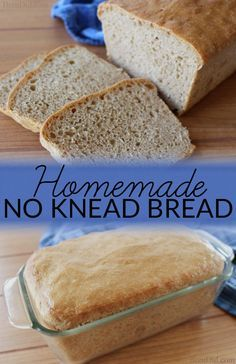 Homemade No Knead Bread requires neither time nor expertise! Simply stir…