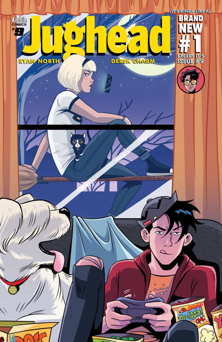 The New Version of Sabrina the Teenage Witch Will Debut in Jughead This Fall #comicbooks