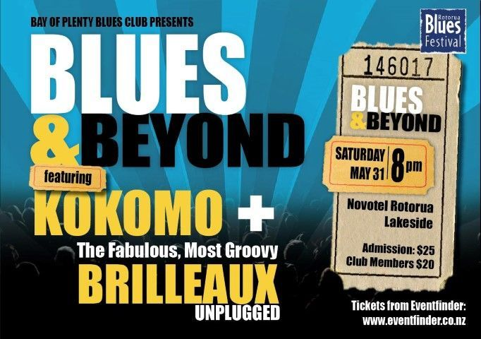 The Rotorua #Blues Festival is proud to announce a new addition to this year's programme, with a special #Saturday night concert showcasing two of New Zealand's best-known blues bands! Does this sound like your type of weekend fun? http://www.eventfinder.co.nz/2014/rotorua-blues-festival-blues-and-beyond-concert/rotorua #bluesmusic #rotorua
