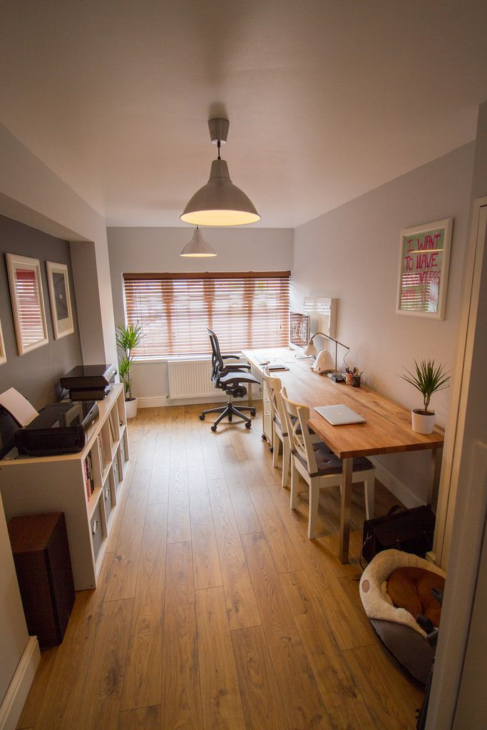 the desk is a single solid oak worktop oiled and fitted to 6 ikea sjunne legs my workstation chair is a herman miller aeron the additional seating comes - Herman Miller Schreibtischtisch