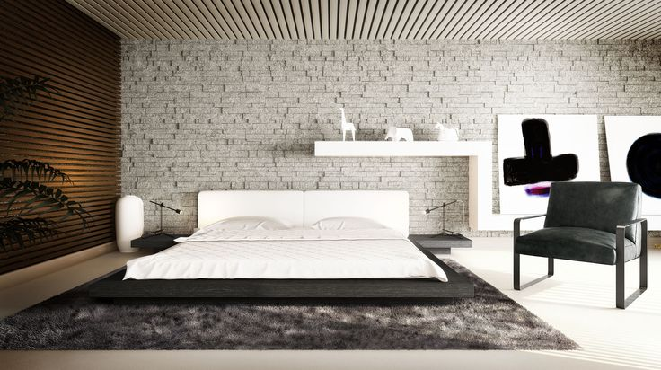 Best The Japanese Inspired Worth Platform Bed Features A Low 400 x 300