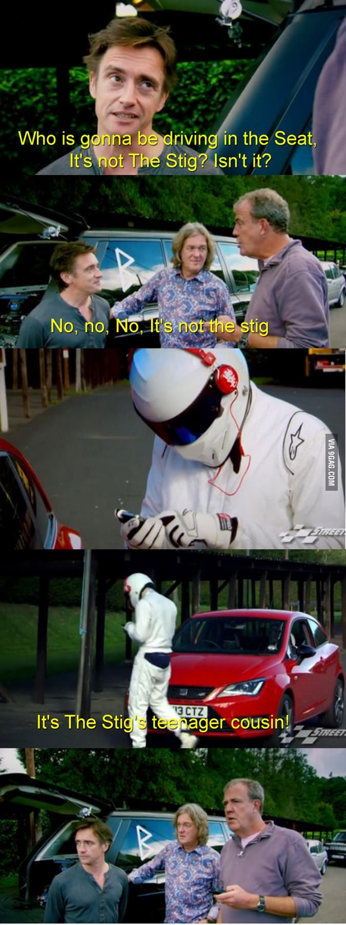 Just Top Gear being Top Gear